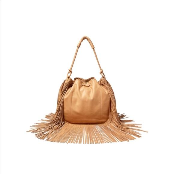 b4f0e3e13d7 Polo by Ralph Lauren Bags   Polo Ralph Lauren Fringe Leather Hobo ...